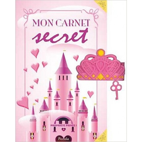 Mon carnet secret rose