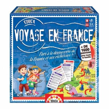 voyage en france +8 ans 2-4 joueurs