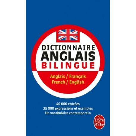 DICTIONNAIRE ANGLAIS BILINGUE