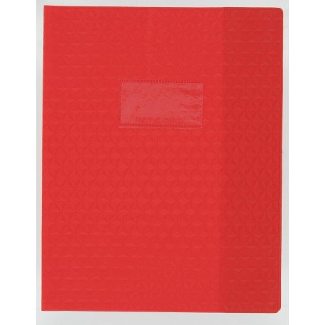 PROTEGE CAHIER ROUGE 17*22