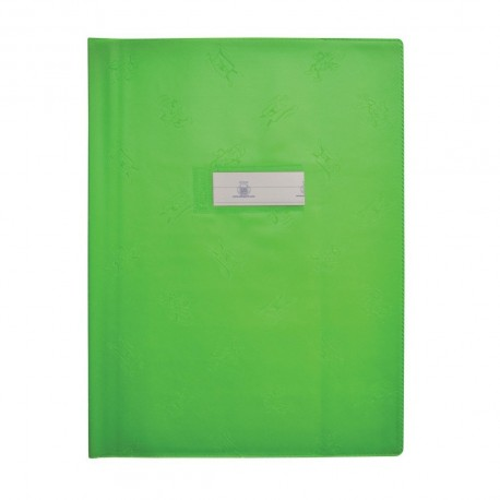 PROTEGE CAHIER 17*22 VERT MENTHE