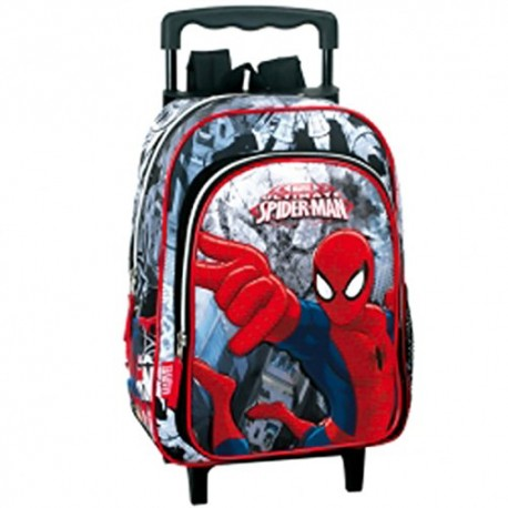 Sac cartable spiderman troller