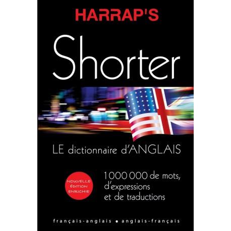 DICTIONNAIRE ANGLAIS HARRAP'S / SHORTER