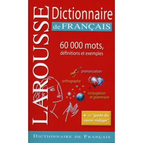 DICTIONNAIRE LAROUSSE DE FRANCAIS 60000 MOTS