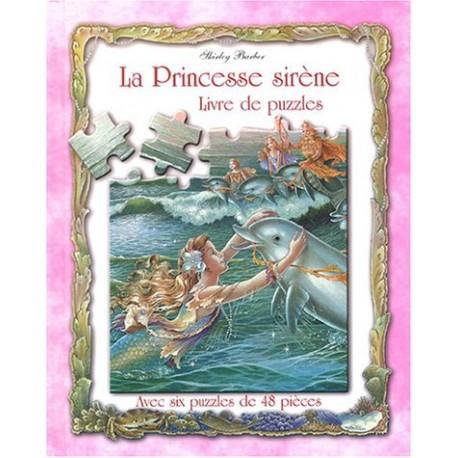 La princesse sirène: livre de puzzle
