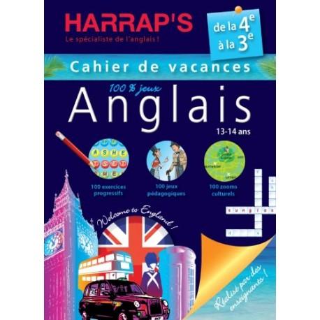 HARRAP'S CAHIER DE VAC 4E- 3E
