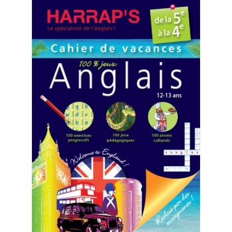 HARRAP'S CAHIER DE VAC DE LA 5E - 4E