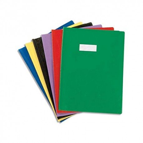 Protège cahier 24X32 losange jaune 72415
