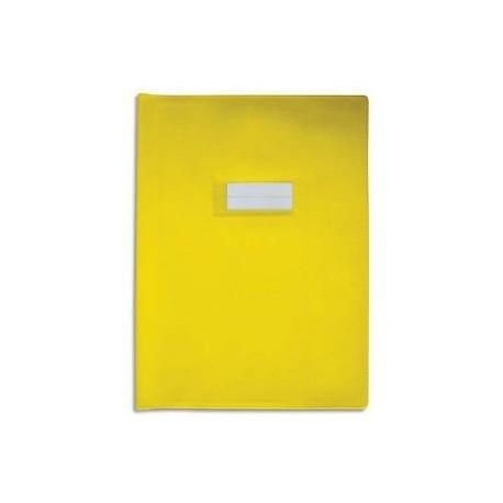 Protège cahier 24X32 losange jaune 72414