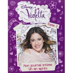 Violetta mon journal intime un an après tome 2
