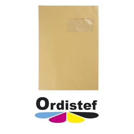 Paquet enveloppe C4 kraft 10 pièces