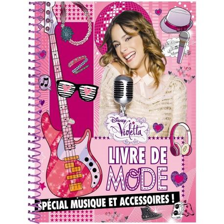 Violetta : Livre de mode spécial musique et accessoires