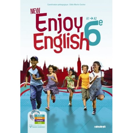 New Enjoy English 6e - manuel + DVD rom