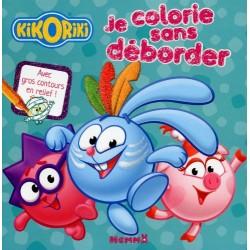 Kikoriki - Je colorie sans déborder