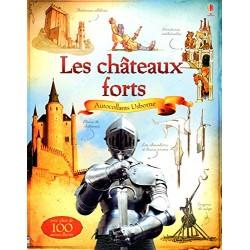 Les châteaux forts - Documentaires en autocollants