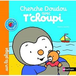 Cherche Doudou avec T'choupi sur la plage