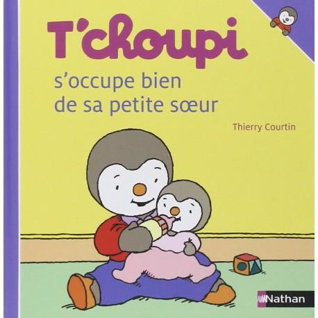 TCHOUPI S'OCCUPE BIEN DE SA PETITE SOEUR